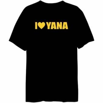 amamos a Yana y odiamos a las que la odian(esta es mi camiseta que muchas veces me pongo la he hecho fijandome del ejemplo en google)