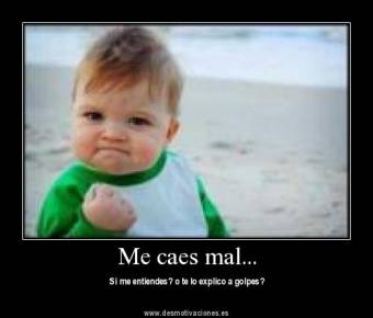 ¡¡ME CAES MAL!! :P