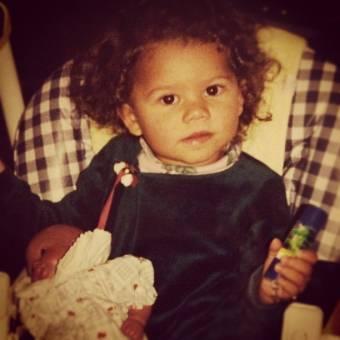 hermosa desde pequeña