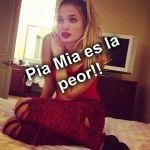 Odio a Pia Mia!!